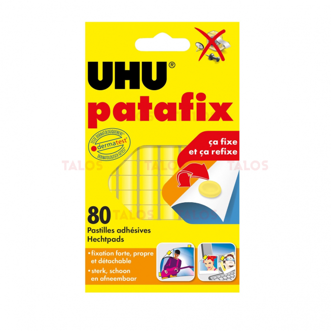 Colle Patafix transparent UHU