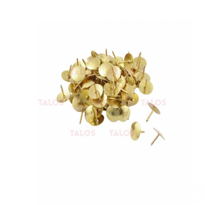 Punaise dorée paquet de 50