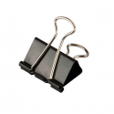 Binder clip 19mm paquet de 12