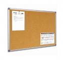 Tableau affichage liège 90x120 cadre aluminium
