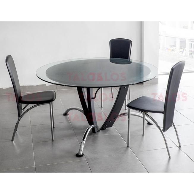 Table de réunion Lamda Ronde Diamètre 140