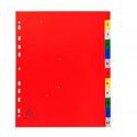 Intercalaire A4 polypropylène numérique 12 onglet