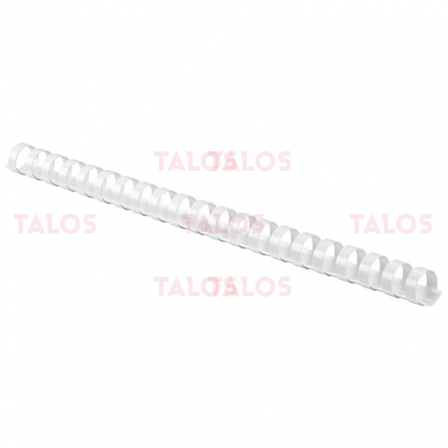 Reliure spirale 16 mm blanc