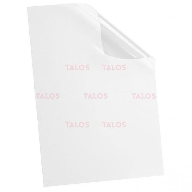 Transparent reliure A3150 microns paquet de 100