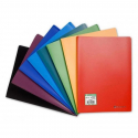 Porte documents Exacompta A4 polypropylène 80 vues couleurs assorties