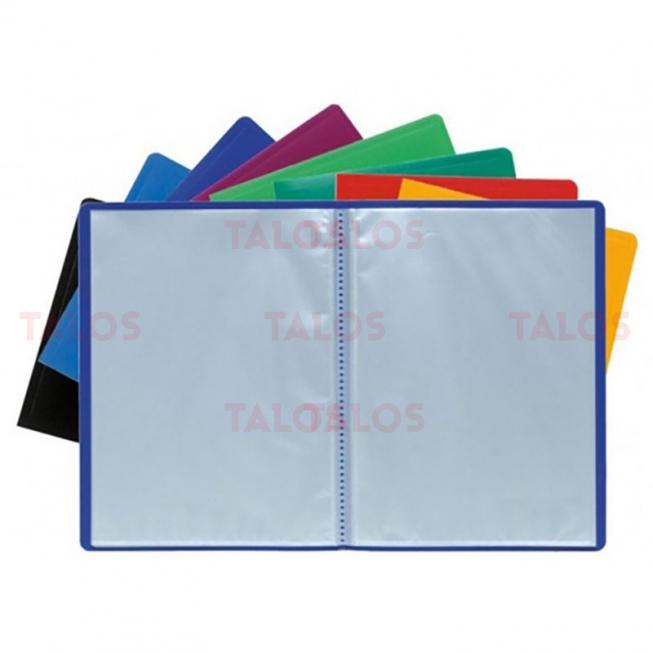 Porte documents Exacompta A4 polypropylène 120 vues couleurs assorties