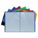 Porte documents Exacompta A4 polypropylène 160 vues couleurs assorties