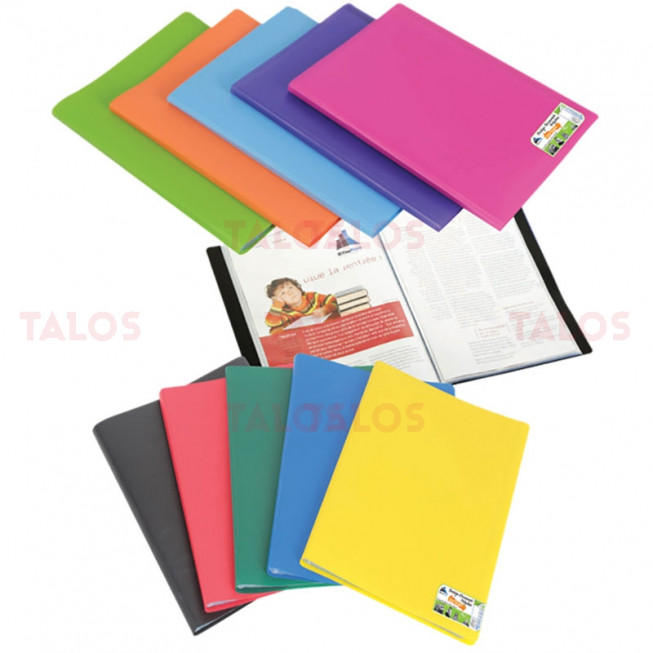 Protège-documents en polypropylène polyclass 200 vues Office plast