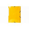 Chemise 3 rabats Exacompta cartonnés jaune