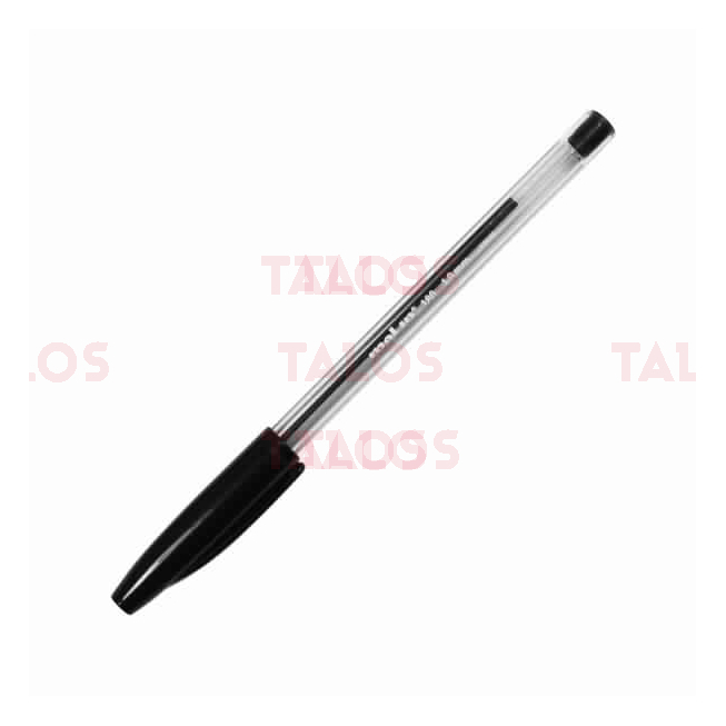 Stylo à bille noir Molin bcn180
