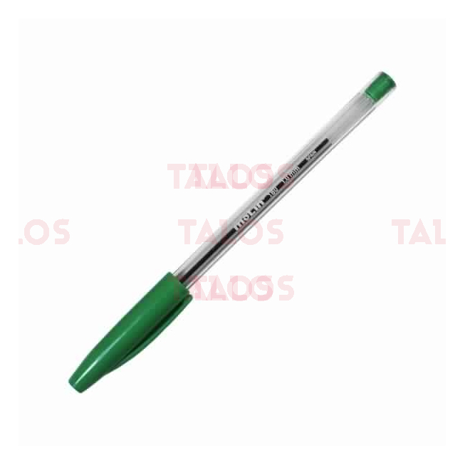 Stylo à bille vert Molin bcn 180