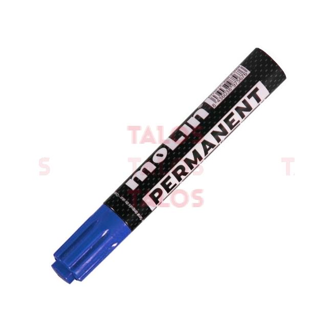 Marqueur permanent Molin bleu