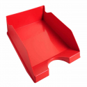 Bac à courrier superposable Ecotray Exacompta couleur rouge