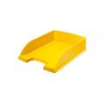 Bac à courrier jaune