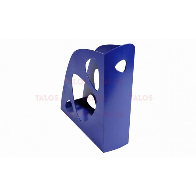 Porte revue Ecomag bleu nuit
