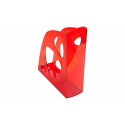 Porte revue Ecomag transparent rouge