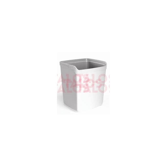 Corbeille à papier My Desk blanc 15 litre