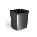 Corbeille à papier My Desk noir 15 litre