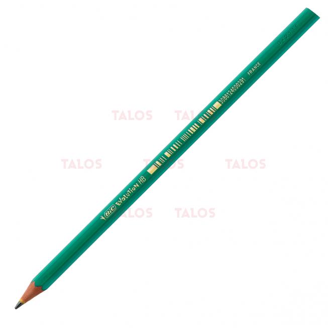 Crayon BIC evolution 650 paquet de 12