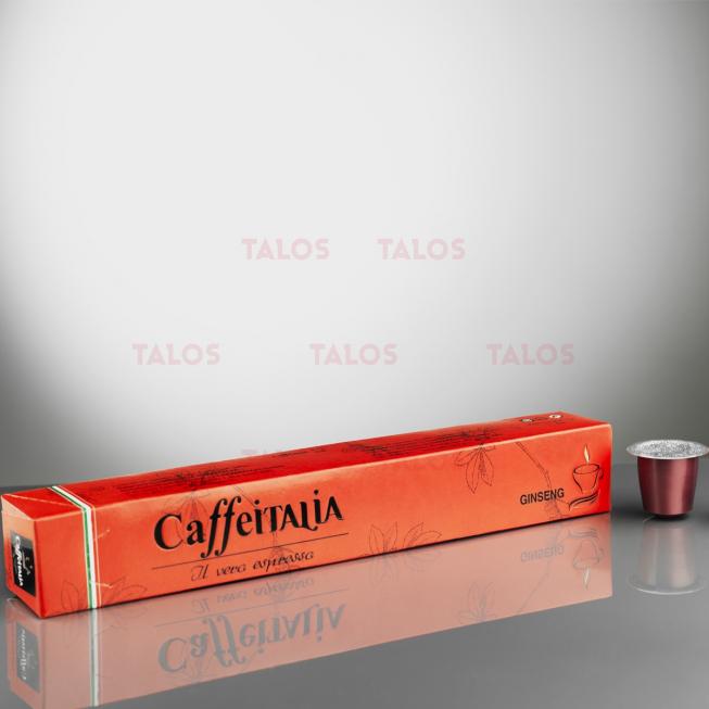 Paquet de 10 Capsules café CAFFÉITALIA compatible NESPRESSO CARAMEL