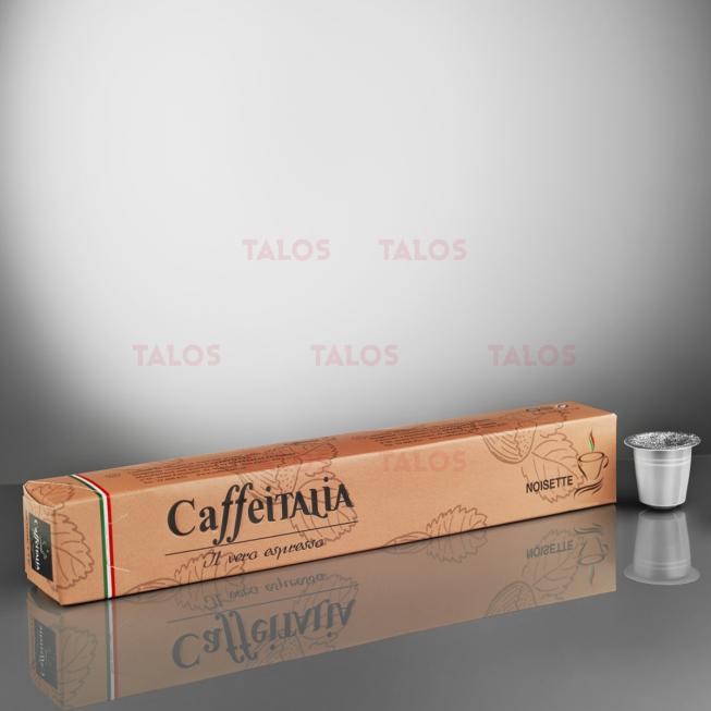 Paquet de 10 Capsules café CAFFÉITALIA compatible NESPRESSO NOISETTE