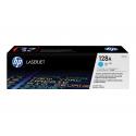 Toner HP 128A cyan pour imprimante laser