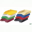 Corbeille à courrier pleine opaque Faibo - couleurs assorties