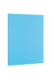 Porte documents A4 en PP 100 vues couleurs assorties
