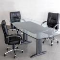 Table de réunion Lamda 220*110 structure Dynamic