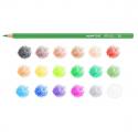 Boite de 18 crayons de couleurs CARIOCA TITA