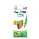 Boite de 12 crayons de couleurs CARIOCA TITA
