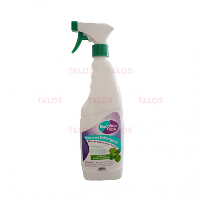 Désinfectant Surfaces Hautes Bactifree Spray 750 ml
