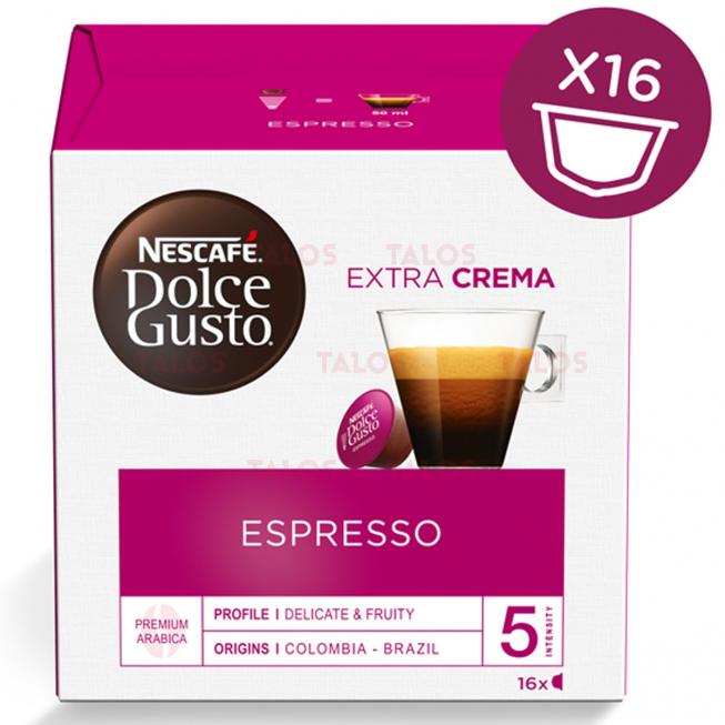 Capsules NESCAFÉ DOLCE GUSTO Espresso Paquet de 16