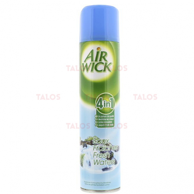 AIRWICK AEROSOL 4 EN 1 300ML EAUX FRAICHES